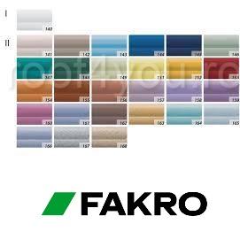 Jaluzele  Fakro AJP I  55/78 cu ghidaje laterale 1