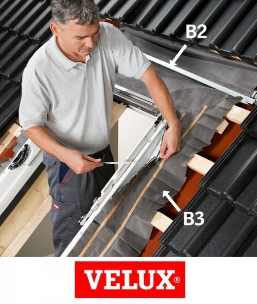 Kit de izolare termica Velux BDX 2000, 114/118 3