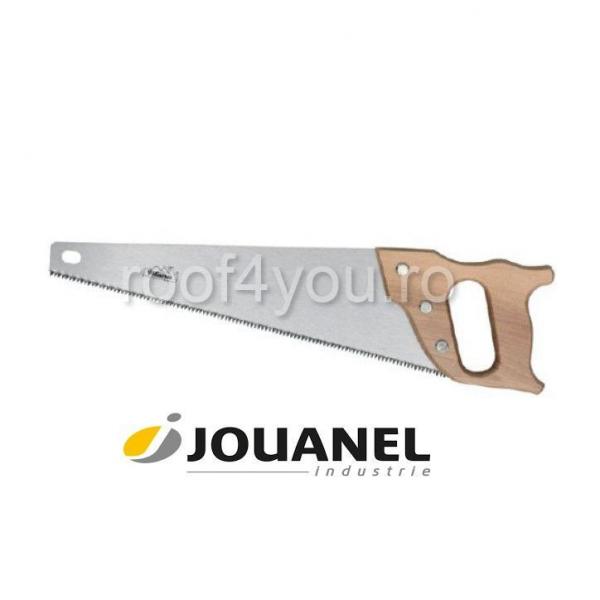 Fierastrau coada-de-vulpe, 500 mm, maner din lemn, dantura 5 mm, Jouanel 0