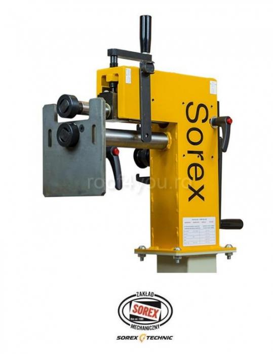 Masina de bordurat tabla Sorex CW-50250 [0]