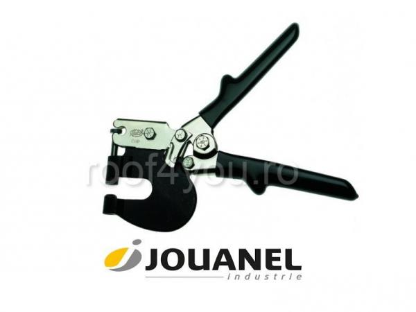 Perforator diam. 3,3 mm, poanson interschimbabil, matrita fixa, Jouanel 0