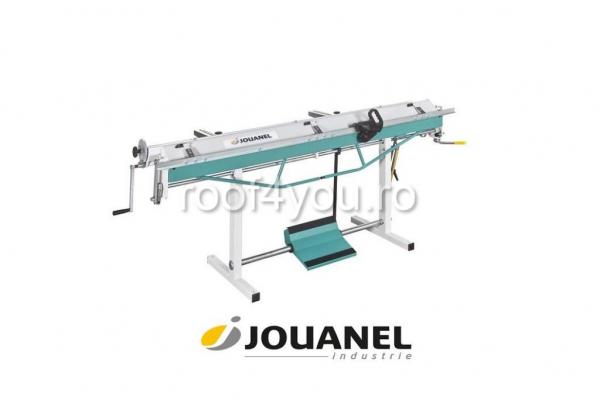 Abkant manual de indoit tabla 2m, cu pedala si sistem de taiere, Jouanel 0