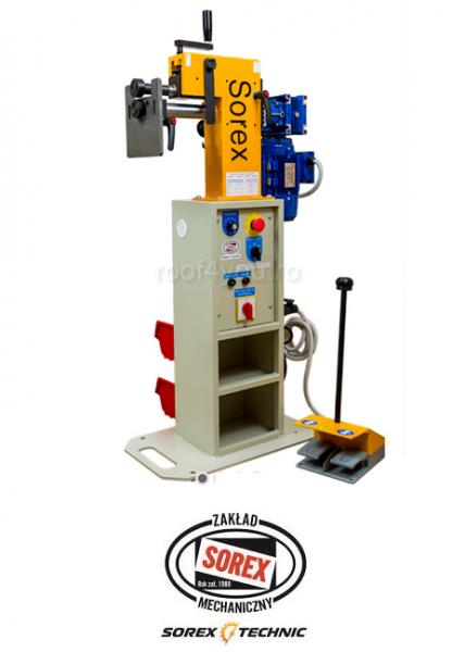 Masina electrica de bordurat tabla Sorex CWM-50200, 075 KW [0]