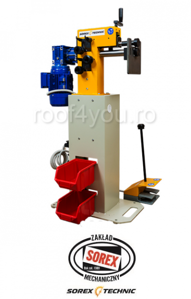 Masina electrica de bordurat tabla Sorex CWM-50200, 1.5 KW 1
