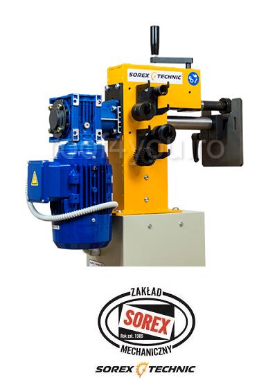 Masina electrica de bordurat tabla Sorex CWM-50200, 1.5 KW 2