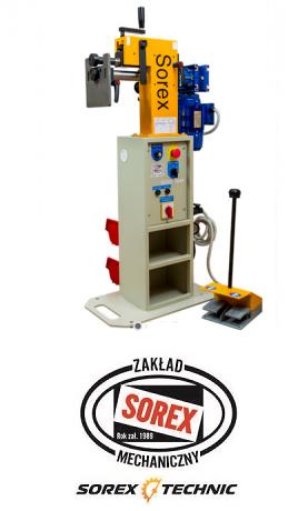 Masina electrica de bordurat tabla Sorex CWM-50250, 075 KW 5