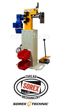 Masina electrica de bordurat tabla Sorex CWM-50250, 075 KW 4