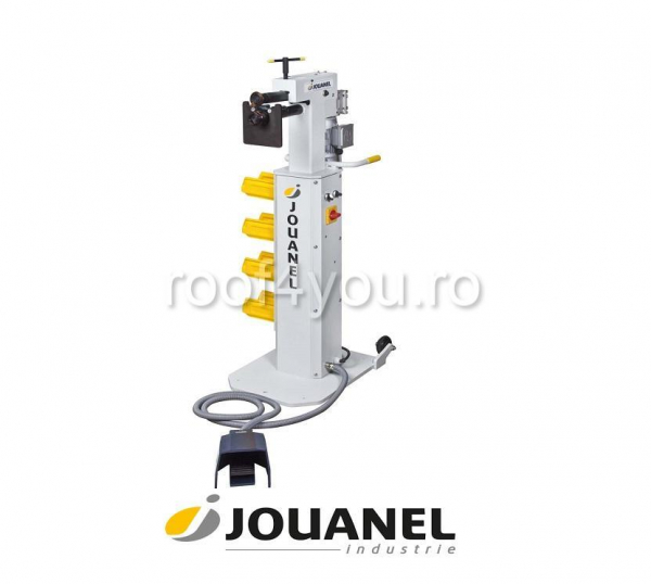 Masina electrica de bordurat tabla, viteza variabila, otel 1,2 mm, Jouanel 0