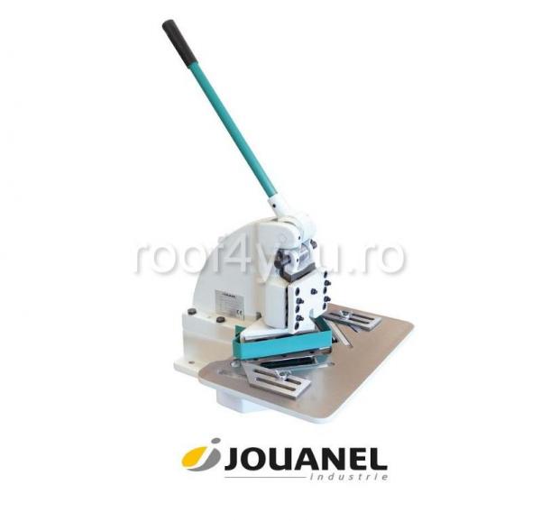 Dispozitiv manual pentru decupat colturi la 90gr, 150x150 mm, Jouanel 0