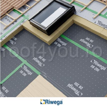 Membrana control vapori Riwega Eurostandard DB 200, 50x1.5=75mp 1