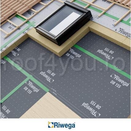 Membrana control vapori Riwega Eurostandard DB 155, 50x1.5=75mp 1