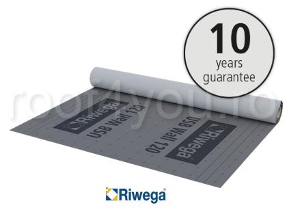 Membrana de difuzie pentru fatade Riwega USB WALL 120, 50x1.5=75mp 0