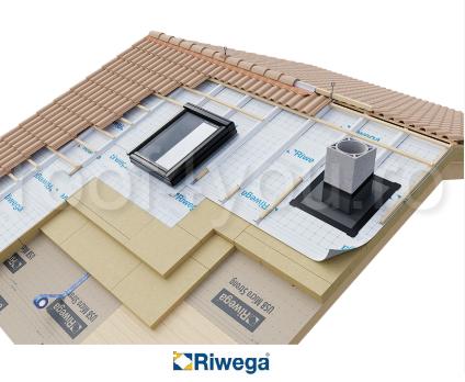 Membrana de difuzie pentru acoperis Riwega USB Weld 345 AS, 30x1.5=45mp 1