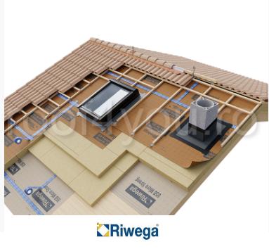 Membrana de difuzie pentru acoperis Riwega USB Protector Head FH 200 SK, 50x1.5=75mp 1