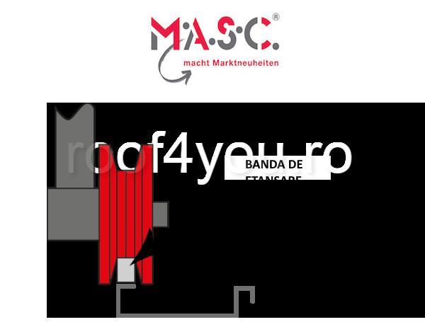 DIspozitiv de aplicat banda de etansare MASC , 320 mm x 75 mm x 270 mm 1
