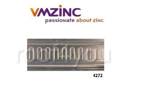 Profile ornamentale standard VMZINC, inaltime 360 mm, lungime 975 mm, adancime 33 mm, Model 4272 0