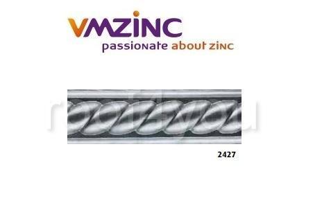 Decor standard VMZINC, inaltime 195 mm, lungime 1030 mm, Model 2427 0