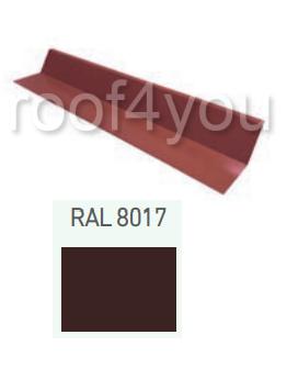 Racord calcan, Suprem 50 WETTERBEST, grosime 0.5 mm, RAL 8017 0