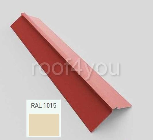 Coamă dreaptă mare CDMA, Lucios WETTERBEST, grosime 0.35 mm, RAL 1015 0