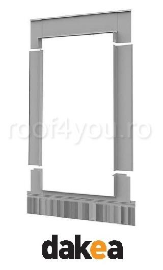 Rama de etansare 78/98 Combi pentru fereastra de mansarda fixa DAKEA XCI 0