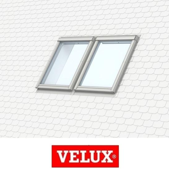 Rama de etansare combi Velux EKS-S2 - 66/140 pentru invelitori plate 0