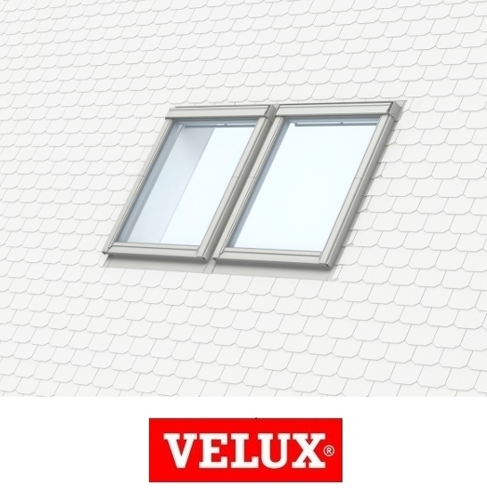 Rama de etansare combi Velux EKS-S2 - 78/98 pentru invelitori plate [0]