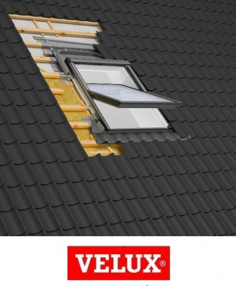 Rama Velux EDW 2000, 66/140- pentru invelitori ondulate 2