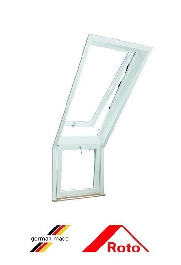 Roto R15, 68/58, toc din pvc, deschidere mediana, geam dublu [0]