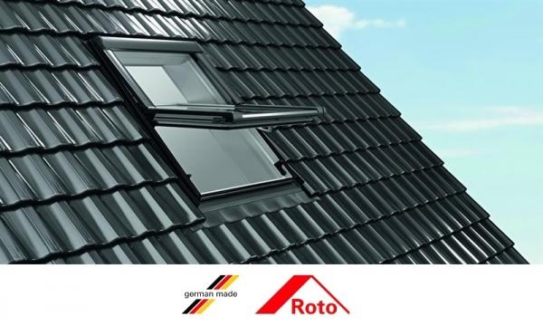 Ferestre mansarda Roto R45, 54/78, toc din lemn, izolatie WD, deschidere mediana, geam dublu 5