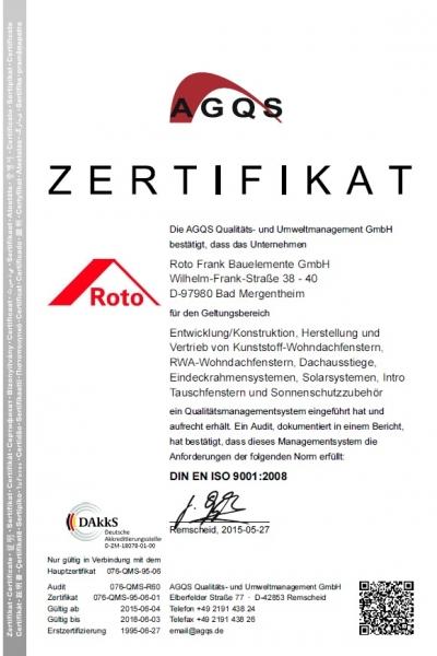 Ferestre mansarda Roto R45, 54/78, toc din pvc, deschidere mediana, geam dublu 10