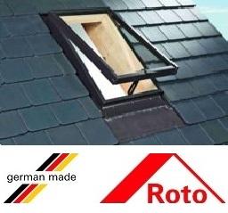 Roto R27, 45/55, toc din lemn, deschidere mediana, geam dublu [2]