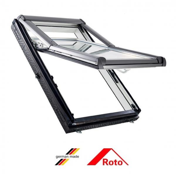 Roto R75, 54/78, toc din pvc, deschidere mediana, geam dublu [0]