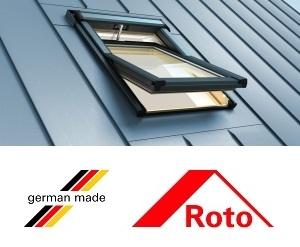 Rototronic R69G, 54/78, toc din lemn, izolatie WD, actionare electrica cu deschidere mediana [3]
