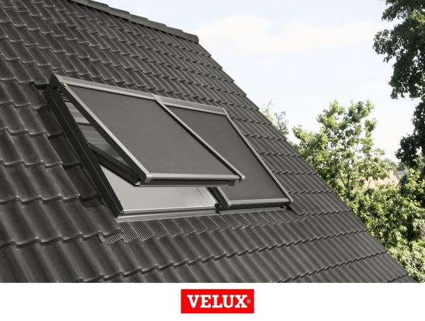 Rulou exterior parasolar 114/140 Velux Standard MML, Gri 1