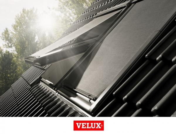 Rulou exterior parasolar Velux Standard MHL, 66/140, Gri 8