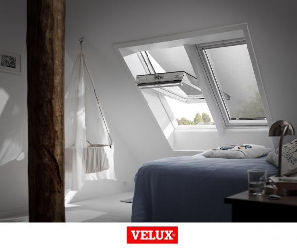Rulou exterior parasolar Velux Standard MHL, 66/98, Gri 2