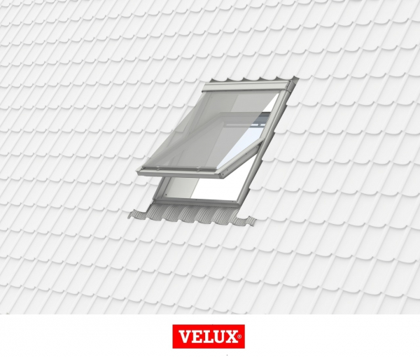 Rulou exterior parasolar Velux Standard MHL, 66/98, Gri 3
