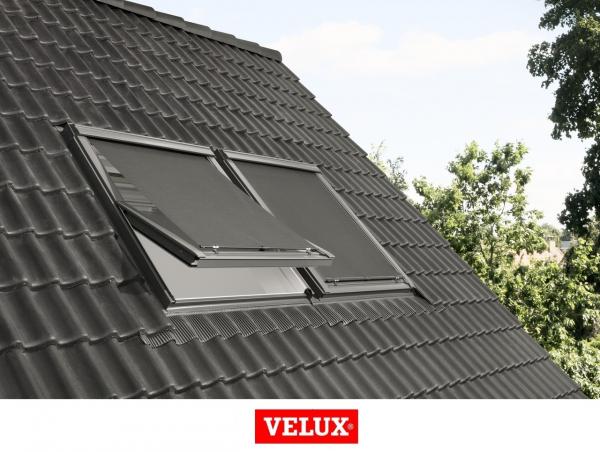 Rulou exterior parasolar Velux Standard MHL, 66/140, Gri 5