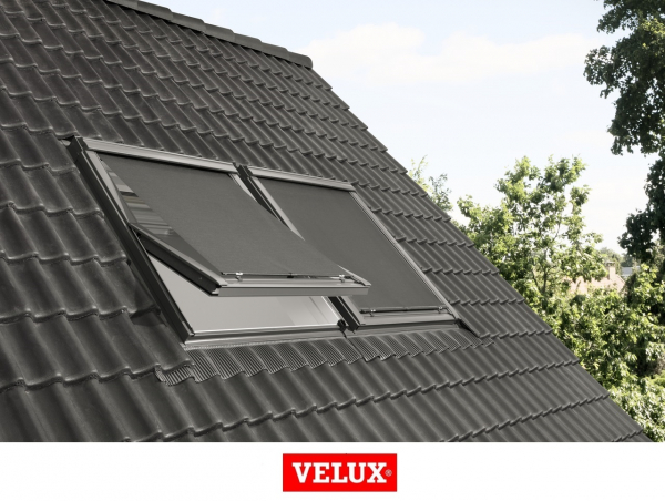 Rulou exterior parasolar Velux Standard MHL, 114/140, Gri 5