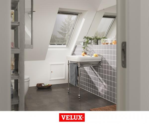 Rulou exterior parasolar Velux Standard MHL, 114/140, Gri 4