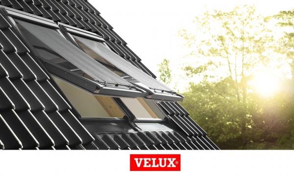 Rulou exterior parasolar Velux Standard MHL, 114/140, Gri 7
