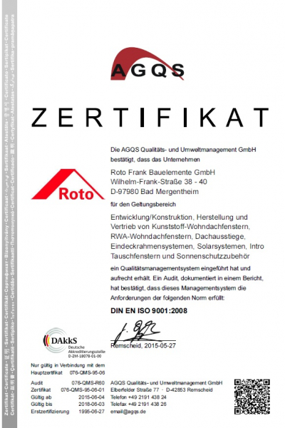 Rulou standard Roto ZRS grupa 2, 54/78 10