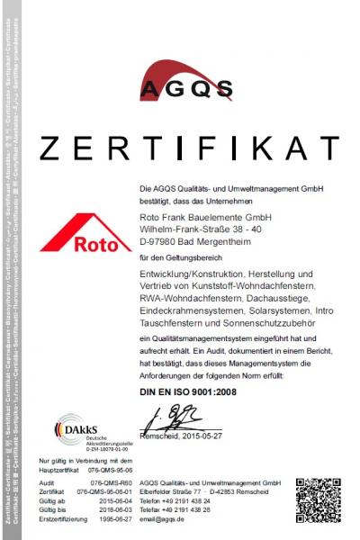 Rulou standard Roto ZRS grupa 3, 54/78 11