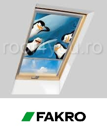 Rulouri opace Fakro ARF PM1  55/78 Colectia DreamWorks Penguins 0