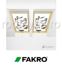 Rulouri opace Fakro ARF PM3  55/78 Colectia DreamWorks Penguins 0