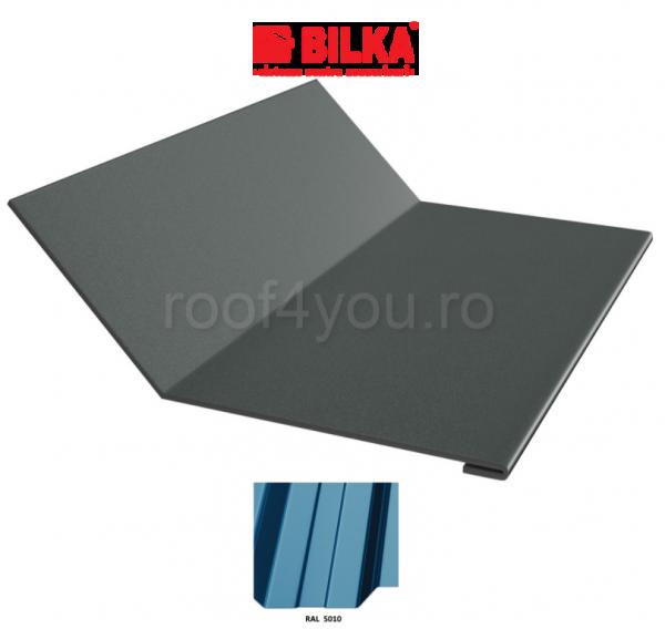 Ruperea pantei concava industriala BILKA Lucios 0,5 mm / 208 mm / RAL 5010 0