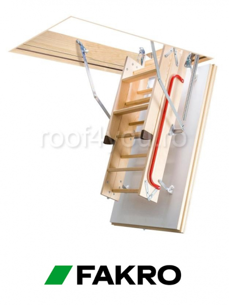 Scara modulara din lemn LTK Energy 55/100, inaltime camera 280 cm 3