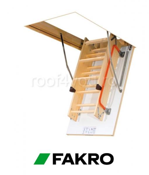 Scara modulara din lemn LWK Komfort 55/111, inaltime camera 280 cm 3