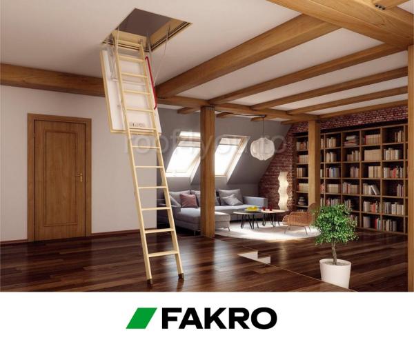 Scara modulara din lemn LWT 72/122 Passive House, inaltime camera 280 cm 1