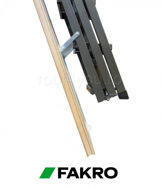 """Scari Modulare Metalice Fakro LMP  60/144 inaltimea incaperii """"H"""" 366 cm 2"""